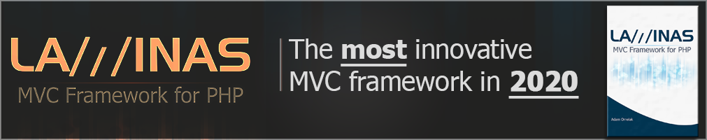 Laminas MVC: the most innovative framework in 2020 - get a book on Amazon